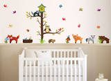 Forest Animals Wall Decal Sticker Wall Decal