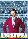Anchorman Quotes Huge Movie Poster Poster