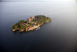 Singer Castle On Dark Island in Thousand Islands Photographic Print by Will Van Overbeek