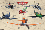 Disney Planes - Group Movie Poster Poster