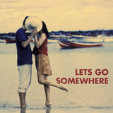 Let's Go Somewhere Prints by Michele Westmorland