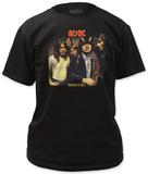 AC/DC - Higway to Hell LP cover Vêtement