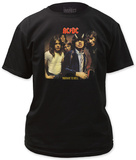 AC/DC - Higway to Hell LP cover T-shirts