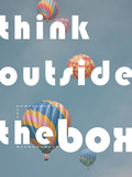 Think Outside the Box Prints by Don Grall