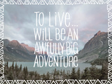 Chuck Haney - Big Adventure - Poster
