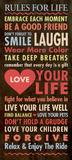 Leben Poster von Stephanie Marrott