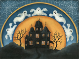 Haunted House Prints by Kim Lewis