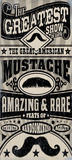 Great American Mustache Poster by Cory Steffen