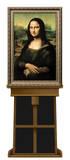 Mona Lisa by Leonardo da Vinci on Museum Easel Fine Art Lifesize Standup Cardboard Cutouts by  Leonardo da Vinci