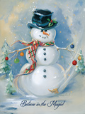 Snowman Magic Prints by Susan Comish