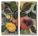 Rose Garden I Art by Jennifer Harwood