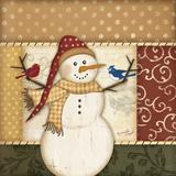 Country Snowman II Prints by Jennifer Pugh