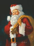 Santa Posters by Susan Comish