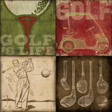 Golf 4Patch Kunst von Stephanie Marrott