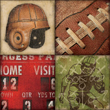 Football 4Patch Plakater av Stephanie Marrott