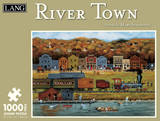 River Town 1000 Piece Jigsaw Puzzle Jigsaw Puzzle