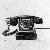 Black Phone Art by JB Hall