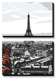 Paris I Prints by Jo Fairbrother