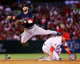 MLB Dustin Pedroia 2013 Action Photo