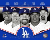 Los Angeles Dodgers 2013 Team Composite Photographie