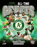 Oakland Athletics All Time Greats Composite Photo