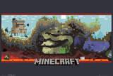 Minecraft Underground Kunstdrucke