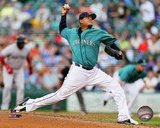 Felix Hernandez 2013 Action Photo