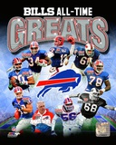 Buffalo Bills All Time Greats Composite Photo