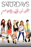 The Saturdays - Signatures Poster
