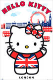 Hello Kitty London Posters