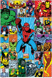 Marvel - Character Grid Plakát