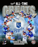 Kansas City Royals All Time Greats Composite Photo