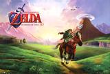 Nintendo Zelda Ocarina Of Time Poster