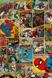 Marvel - Spiderman Comic Covers Kunstdrucke