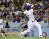 Yasiel Puig First Career Home Run June 4, 2013 Photo