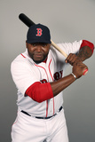 Fort Myers, FL - February 17: David Ortiz Photographic Print