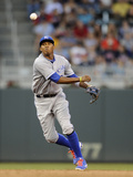 Minneapolis, MN - June 27: Alcides Escobar Photographic Print