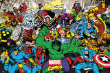 Marvel Characters Plakater