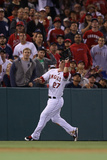 Anaheim, CA - June 14: Left fielder Mike Trout Photographic Print