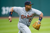 Cleveland, OH - July 7: Third baseman Miguel Cabrera Photographic Print