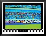 Risk: Auto Racing Prints by Richard M. Swiatlowski