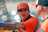 Sarasota, FL - February 23: Shortstop J.J. Hardy Photographic Print