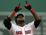 Boston, MA - June 19: David Ortiz Lámina fotográfica