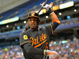 St. Petersburg, FL - June 7: Outfielder Adam Jones Photographic Print