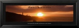 Possibilities: Lighthouse at Sunset Poster von Craig Tuttle