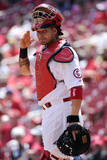 St. Louis, MO - May 1: Yadier Molina Photographic Print