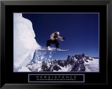 Persistence: Snowboarder Poster