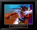 Determination: Quarterback Poster von Bill Hall