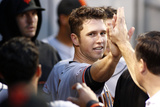 Pittsburgh, PA - June 13: Buster Posey Photographic Print