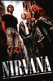 Nirvana - Alley - Poster